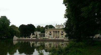 Photo of Monument / Landmark Palace On The Isle at Łazienki Królewskie, Warsaw, Poland