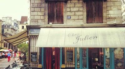 Photo of French Restaurant Chez Julien at 1 Rue Du Pont Louis-philippe, Paris 75004, France