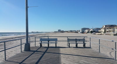 Photo of Beach End Of The Boardwalk at Fredericksburg Ave, Ventnor City, NJ 08406, United States