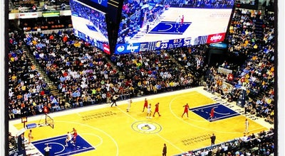 Photo of Basketball Stadium Bankers Life Fieldhouse at 125 S Pennsylvania St, Indianapolis, IN 46204, United States
