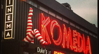 Photo of Indie Movie Theater Duke's At Komedia at 44-47 Gardner St, Brighton BN1 1UN, United Kingdom