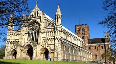 Photo of Church St Albans Cathedral & Abbey at Sumpter Yd, St Albans AL1 1BY, United Kingdom