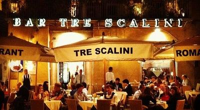 Photo of Italian Restaurant Tre Scalini at Piazza Navona 30, Roma 00186, Italy