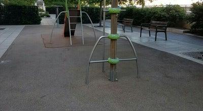 Photo of Playground Place Benoît Crepu at Place Benoît Crepu, Lyon 69005, France