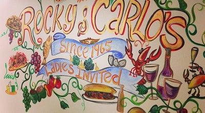 Photo of Italian Restaurant Rocky & Carlo's at 613 W Saint Bernard Hwy, Chalmette, LA 70043, United States
