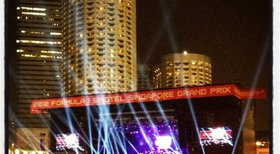 Photo of Concert Hall Singapore F1 GP: Padang Stage at Marina Bay Street Circuit, Singapore, Singapore