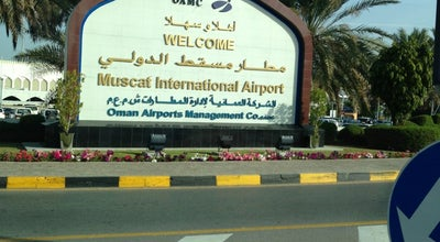 Photo of Airport Muscat International Airport (MCT) at As Sultan Qaboos St., Muscat, Oman