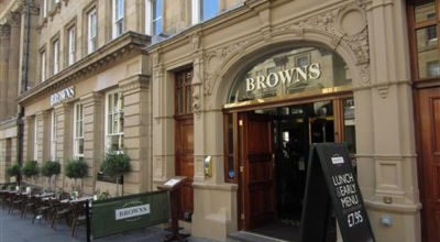 Photo of Bar Browns at 51 Grey St, Newcastle upon Tyne NE1 6EE, United Kingdom
