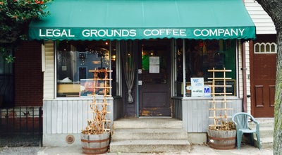 Photo of Coffee Shop Legal Grounds Coffee Co. at 170 Grand St, Jersey City, NJ 07302, United States
