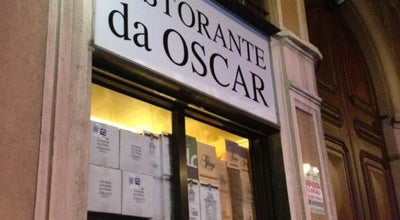 Photo of Italian Restaurant Ristorante Da Oscar at Via Lazzaro Palazzi 4, Milano, Italy