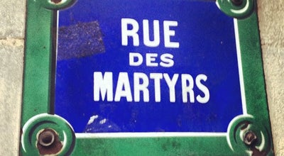 Photo of Road Rue des Martyrs at Rue Des Martyrs, Paris, France
