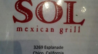 Photo of Mexican Restaurant Sol Mexican Grill at 3269 Esplanade, Chico, CA 95973, United States