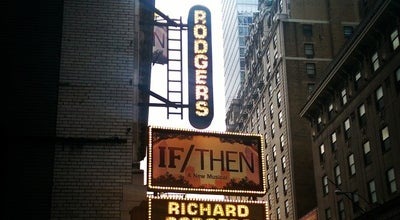 Photo of Theater The Richard Rodgers Theatre at 226 W 46th St, New York, NY 10036, United States