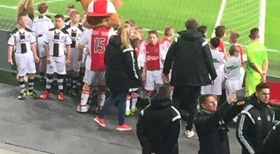 Photo of Soccer Stadium Amsterdam ArenA - Vak 112 at Amsterdam Arena, Amsterdam, Netherlands