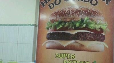 Photo of Burger Joint Hamburguer do Gordo at R. Cel. Izácio, Palmares, Brazil