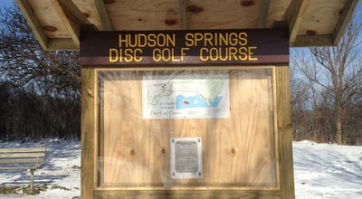 Photo of Disc Golf Hudson Springs Disc Golf Course at United States