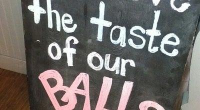Photo of Italian Restaurant Hey Meatball! at 719 College St., Toronto, ON M6G 1C2, Canada