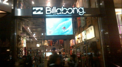 Photo of Clothing Store Billabong at 112 W 34th St, New York, NY 10001, United States