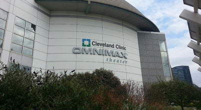 Photo of Movie Theater Cleveland Clinic OMNIMAX Theater at 601 Erieside Ave, Cleveland, OH 44114, United States