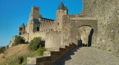 Photo of Castle Château Comtal de la Cité de Carcassonne at 10-11 Place Du Château, Carcassonne 11000, France