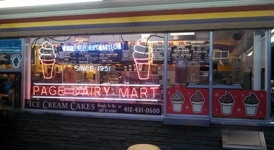 Photo of Ice Cream Shop Page Dairy Mart at 4600 Carson St, Pittsburgh, PA 15210, United States