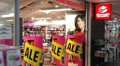 Photo of Bookstore Suomalainen Kirjakauppa at Raastuvankatu 19, Vaasa 65100, Finland