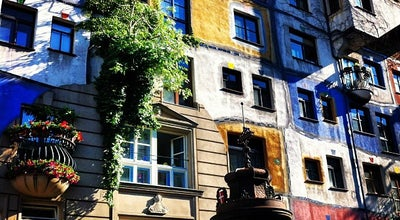 Photo of Monument / Landmark Hundertwasserhaus at Kegelgasse 34, Wien 1030, Austria