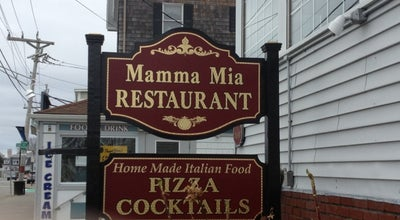 Photo of Italian Restaurant Mamma Mia's of Plymouth at 122 Water St, Plymouth, MA 02360, United States