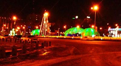 Photo of Monument / Landmark Тәуелсіздік монументі / Монумент Независимости / The Monument of Independence at Площадь Республики, Алматы, Kazakhstan
