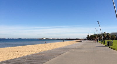 Photo of Beach St Kilda Beach at Jacka Blvd, St Kilda, VI 3183, Australia