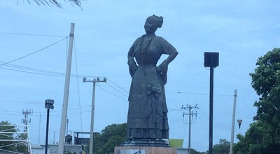 Photo of Monument / Landmark Monumento a la Mujer Campechana at Calle 31, Ciudad Del carmen, Mexico