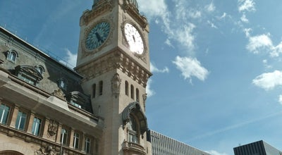 Photo of Train Station Gare SNCF de Paris Lyon at Place Louis Armand, Paris 75012, France