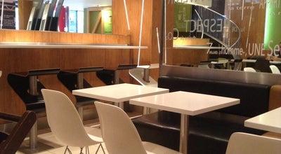 Photo of Fast Food Restaurant McDonald's at 48 Rue Linois, Paris 75015, France