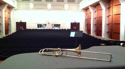 Photo of Concert Hall Recital Hall at Greensboro, NC 27402, United States