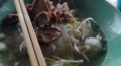Photo of Ramen / Noodle House ก๋วยเตี๋ยว หมูนุ่ม จิ้มลวก at Pattani, Thailand