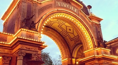 Photo of Theme Park Tivoli at Vesterbrogade 3, Copenhagen 1630, Denmark