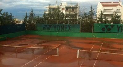 Photo of Tennis Court Αθλητικός Όμιλος Αντισφαίρισης Ηλιούπολης (ΑΟΑΗ) at Έβερτ 1, Ηλιούπολη, Greece