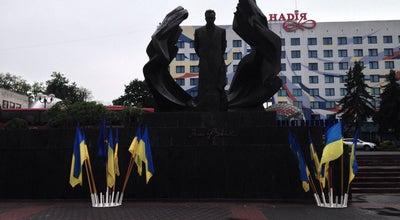 Photo of Monument / Landmark Пам'ятник Івану Франку / Ivan Franko monument at Ukraine