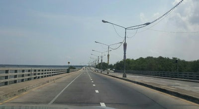 Photo of Bridge สะพานชายทะเล @ ชลบุรี at Chon Buri, Thailand