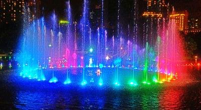 Photo of Park Water Fountains KLCC at Kuala Lumpur City Centre, Kuala Lumpur 50088, Malaysia