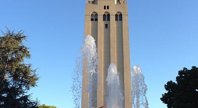 Photo of College Library Hoover Tower at 434 Serra Mall, Stanford, CA 94305, United States