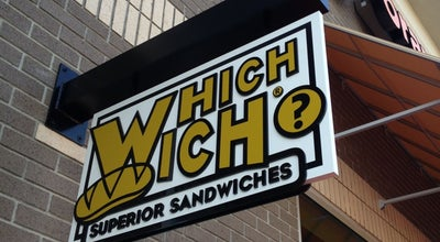 Photo of Sandwich Place Which Wich? Superior Sandwiches at 145 Grand Hill Pl, Holly Springs, NC 27540, United States