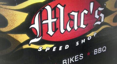Photo of BBQ Joint Mac's Speed Shop at 19601 Liverpool Pkwy, Cornelius, NC 28031, United States
