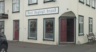 Photo of Cafe Bakaríið Vort daglegt bauð at Strandgötu 49, Hafnarfjörður 220, Iceland