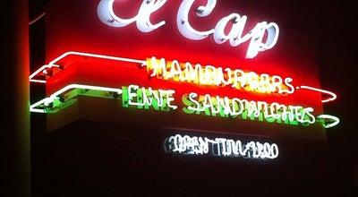 Photo of Burger Joint El Cap Restaurant at 3500 4th St N, Saint Petersburg, FL 33704, United States