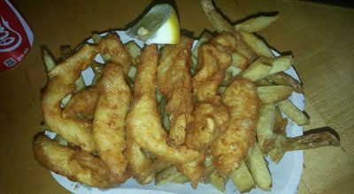 Photo of Fish and Chips Shop Montgomery's Fish & Chips at 123 Carrie Cates Ct, North Vancouver, Br V7M 2E4, Canada