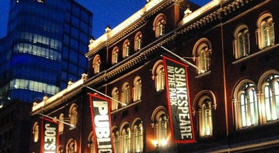 Photo of Theater The Joseph Papp Public Theater at 425 Lafayette St, New York, NY 10003, United States