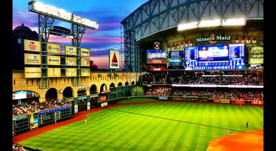 Photo of Baseball Stadium Minute Maid Park at 501 Crawford St, Houston, TX 77002, United States