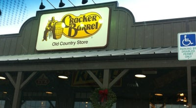 Photo of American Restaurant Cracker Barrel Old Country Store at 199 Supercenter Dr. I-65 & Sr 3/us 31, Calera, AL 35040, United States
