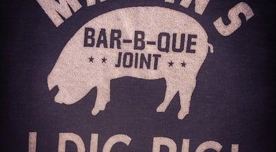 Photo of Other Venue Martin's BBQ Joint at 3108 Belmont Blvd., Nashville, TN  3721, United States